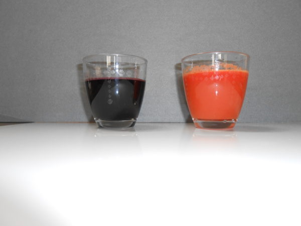 ジュース二種